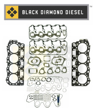 Black Diamond 06-07 Duramax 6.6 LBZ Complete Engine Gasket Kit