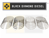 Black Diamond 07.5-10 Duramax 6.6 LMM .040 Oversize Piston Ring Set (8)