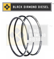 Black Diamond 07.5-10 Duramax 6.6 LMM .020 Oversize Piston Ring Set (1)