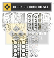 Black Diamond 03-05 Ford 6.0 Powerstroke 18MM Complete Engine Gasket Kit