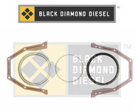 Black Diamond 03-04 Dodge 5.9 Cummins Rear Main Seal Set