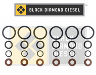 Black Diamond 07.5-15 Dodge 6.7 Cummins Injector Oring Set