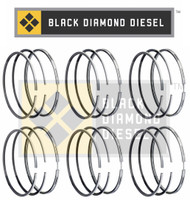 Black Diamond 07.5-15 Dodge 6.7 Cummins .020 Oversize Piston Ring Set