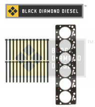 Black Diamond 07.5-15 Dodge 6.7 Cummins Head Gasket with Head Bolts Kit