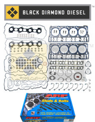 Ford 6.4 Powerstroke Black Diamond Pro Series Head Gasket Kit and ARP Studs