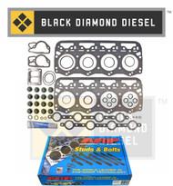 Black Diamond 94-07 Ford 7.3 Powerstroke Head Gasket Kit with ARP Head Studs