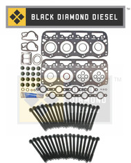 Black Diamond 94-07 Ford 7.3 Powerstroke Head Gasket Kit with Head Bolts