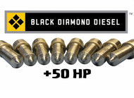Black Diamond Ultra 6.0 Powerstroke 50 Horsepower Premium Injector Nozzle Set