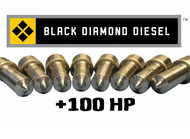 Black Diamond Ultra 6.0 Powerstroke 100 Horsepower Premium Injector Nozzle Set