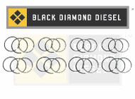 Black Diamond 03-10 Ford 6.0 Powerstroke .020 Oversize Ring Set (8)