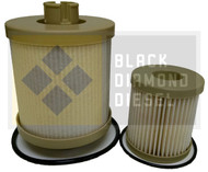 Black Diamond Prime Guard 03-07 Ford 6.0 Powerstroke F-Series 12 Fuel Filters
