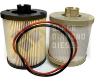 Black Diamond Prime Guard 08-10 Ford 6.4 Powerstroke Fuel Filters