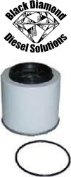Black Diamond Prime Guard 87-93 Ford 7.3 IDI Diesel Fuel Filter