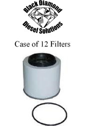Black Diamond Prime Guard 87-93 Ford 7.3 IDI Diesel Case of 12 Fuel Filters