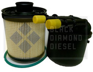 Black Diamond Prime Guard 11-15 Ford 6.7 Powerstroke Case of 12 Fuel Filters