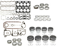 1992-2002 GM 6.5 Diesel Engine Rebuild Kit with Pistons