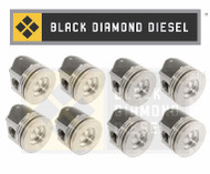 Black Diamond 03-10 Ford 6.0 Powerstroke .030 Oversize Piston Set