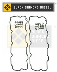 Black Diamond 01-04 Duramax 6.6 LB7 Valve Cover Gasket Set
