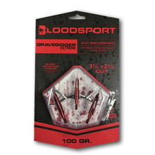 Bloodsport Grave Digger Extreme Broadheads