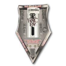Wac'em Triton Broadheads 4 Blade-  3 Pkg with one Practice Blade