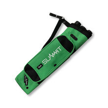 Summit Merdian 3 Tube Clip On Quiver - Green