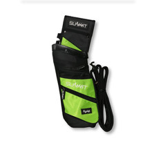 Summit Deluxe Field Quiver with Belt - Green