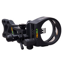TruGlo TSX Pro Series MICRO ADJUST 5 Pin Black Sight