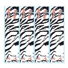 Bohning Blazer Tiger Arrow Wraps - White