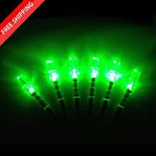 Summit Lighted S Switch Nocks - GREEN (3 Pack)