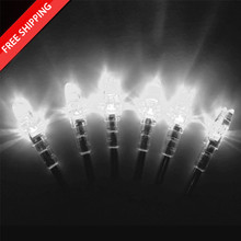 6 Lighted S Nocks - WHITE