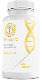 Percura® is a specially formulated medical food intended for the dietary management of the altered metabolic processes associated with pain, inflammation and loss of sensation due to peripheral neuropathy.