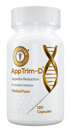AppTrim-D® for the dietary management of obesity. A specially formulated Medical Food, consisting of a proprietary formula of amino acids and polyphenol ingredients in specific proportions, for the nutritional management of the altered metabolic processes associated with obesity, morbid obesity, and metabolic syndrome.