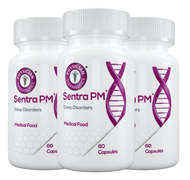 Sentra PM® (NEW LOOK!) is a specially formulated Medical Food intended for the dietary management of the altered metabolic processes of sleep disorders (SD).