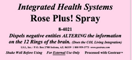 Rose Plus Spray 8 oz