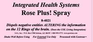 Rose Plus Spray 8 oz