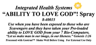 Ability to Love God Spray 8 oz