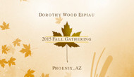 "Dorothy Wood Espiau and Geotran International presents 2015 Winter Gathering ""The eye of the Needle"""