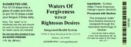Righteous Desires