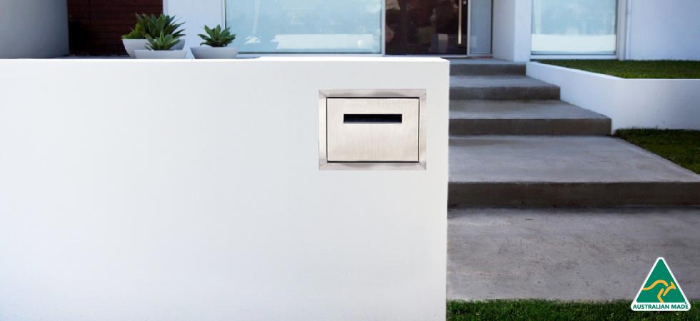 Large mailbox stainless custom