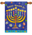 Hanukkah Decorative Flags