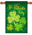 Saint Patricks Day Decorative Flags