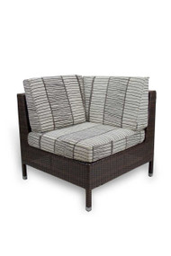 Gar Avon Outdoor Woven Corner Chair