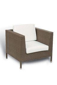 Gar Avon Outdoor Woven Lounge Chair
