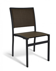 Gar Bayhead Performance Weave Outdoor Stacking Side Chair