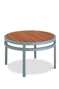 Gar Bayhead Synthetic Teak Round Outdoor Coffee Table