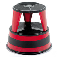 Cramer Rolling Kik Step Stool 1001-43 - Red