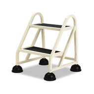 Cramer Two Step Stop-Step Rolling Stair Ladder 1020-19 - No Handrail
