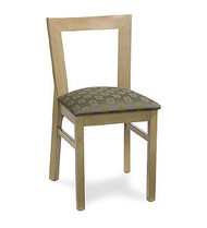 Gar Series 09 Side Chair with Padded Seat