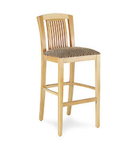 Gar Series 10 Barstool with Padded Seat