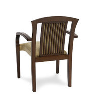 Gar Series 10 Padded Seat and Padded Slat Back Stack Chair